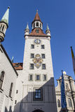 Old Town Hall of Munich at Marienplatz, Germany, 2015 Royalty Free Stock Photos