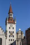 Old Town Hall of Munich at Marienplatz, Germany, 2015 Stock Photo
