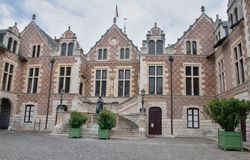 Old Town Hall in Orleans - Hotel Groslot Stock Photo