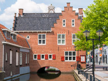 Old town hall of Oud-Beijerland, Netherlands Royalty Free Stock Image