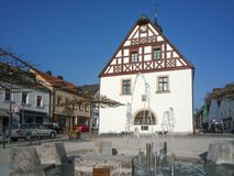 Old town hall - Pegnitz (Germany, Bavaria) Stock Photography