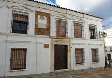 Old Town Hall, Plaza Chica, Zafra, Badajoz, Spain Stock Image