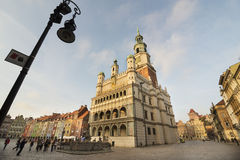 Old town hall in Poznan Royalty Free Stock Image