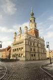 Old town hall in Poznan Royalty Free Stock Images