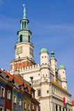 Old town hall in Poznan, Poland Stock Photos