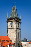 Old town hall, Prague. Czech Republic Royalty Free Stock Photos