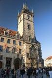 Old Town Hall in Prague. PRAGUE, CZECH REPUBLIC - OCTOBER 30: Old Town Hall in Prague. Architecture of the Czech republic on October 30, 2010 in Prague, Czech Royalty Free Stock Image