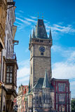 Old town hall in Prague Royalty Free Stock Photos
