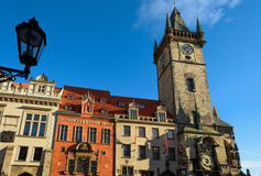 Old town hall in Prague. Stock Photos