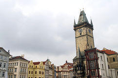 Old Town Hall in Prague Royalty Free Stock Images