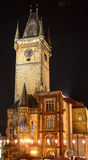Old town hall prague Stock Image