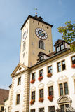 Old Town Hall of Regensburg Stock Photos