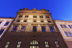 Old Town Hall on Republic Square in Pilsen Royalty Free Stock Photo