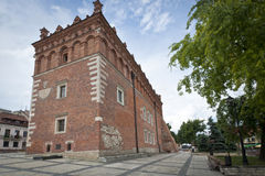 Old Town hall in Sandomierz, Poland Royalty Free Stock Photos