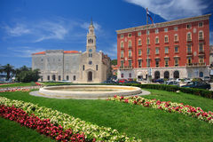 Old Town Hall in Split Royalty Free Stock Images