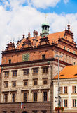 Old Town Hall on Square of the Republic in Pilsen Royalty Free Stock Image