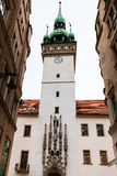 Old Town Hall (Stara Radnice) tower in Brno Royalty Free Stock Photography