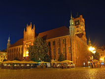 Old Town Hall in Torun, Poland Royalty Free Stock Photography