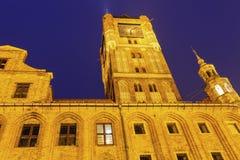 Old Town Hall in Torun. Torun, Kuyavian-Pomeranian Voivodeship, Poland Stock Photography