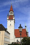 Old Town Hall with Tower, Munich Stock Image