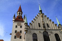 Old Town Hall with Tower, Munich Royalty Free Stock Photo