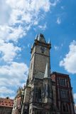Old town hall tower in Prague Royalty Free Stock Images