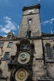 Old town hall tower, Prague Royalty Free Stock Photos