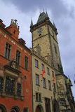 Old Town Hall Tower in Prague, Czech Republic Royalty Free Stock Photography