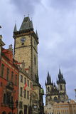Old Town Hall Tower in Prague, Czech Republic Royalty Free Stock Photo