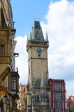 Old Town Hall Tower, Staromestske Namesti, Prague Royalty Free Stock Images