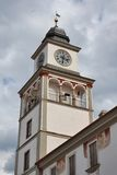 Old Town Hall in Trebon Stock Images