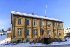 Old town hall of Tromso Royalty Free Stock Photos
