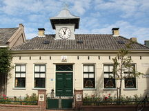Old town hall. Vlieland Stock Images