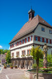 The Old Town Hall in Wildberg. Black Forest, Baden-Wurttemberg, Germany, Europe Royalty Free Stock Photos