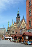 Old Town Hall in Wroclaw - Poland. Royalty Free Stock Image