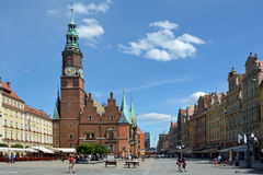 Old Town Hall in Wroclaw - Poland. Royalty Free Stock Photo