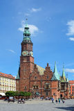 Old Town Hall in Wroclaw - Poland. Stock Image