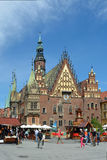 Old Town Hall in Wroclaw - Poland. Royalty Free Stock Photography