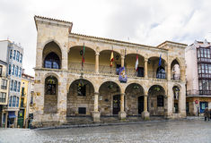 Old town hall in Zamora Spain Royalty Free Stock Image