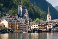 Old town of Hallstatt Stock Photo