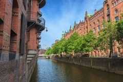 Speicherstadt - Hamburg - Germany Royalty Free Stock Photos