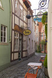 Old town of Hanseatic city Bremen,Germany Royalty Free Stock Photo