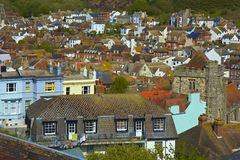 Old Town in Hastings Stock Photos