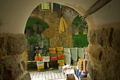 Old town, Hebron, Palestine Stock Image