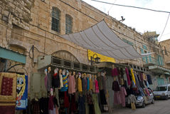 Old town, Hebron, Palestine Royalty Free Stock Images