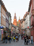 Old town of Heidelberg Germany Royalty Free Stock Images