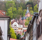 Old town of Heidelberg Germany Royalty Free Stock Photos