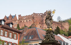 Old town of Heidelberg Germany Royalty Free Stock Image