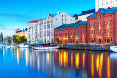 Old Town in Helsinki, Finland Royalty Free Stock Image