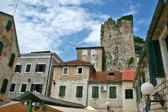 Old town of Herceg Novi Stock Photos
